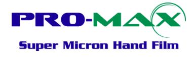 Premix Super Micron Hand Film