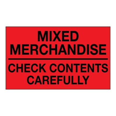 mixed merchandise