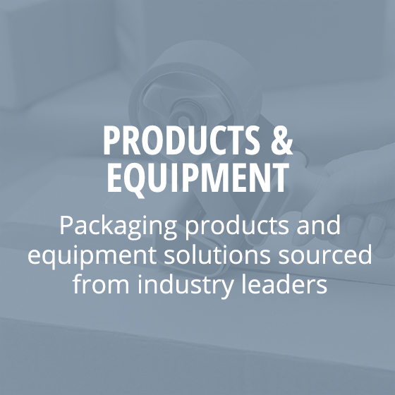 Products and Equipment Home page block